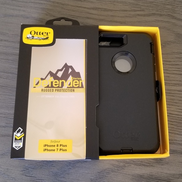 iPhone 8plus 7plus Otterbox Defender case